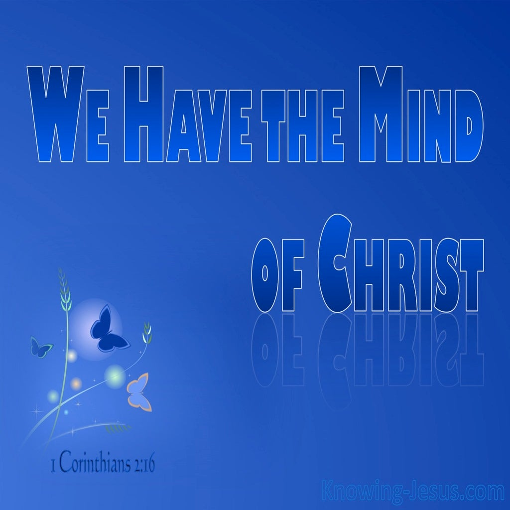 1 Corinthians 2:16 The Mind of Christ (devotional)11-17 (blue)