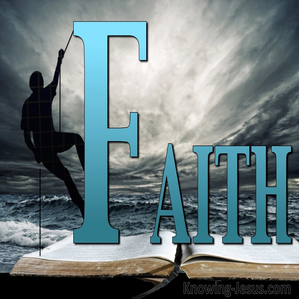 Dependent Faith (devotional) (gray)