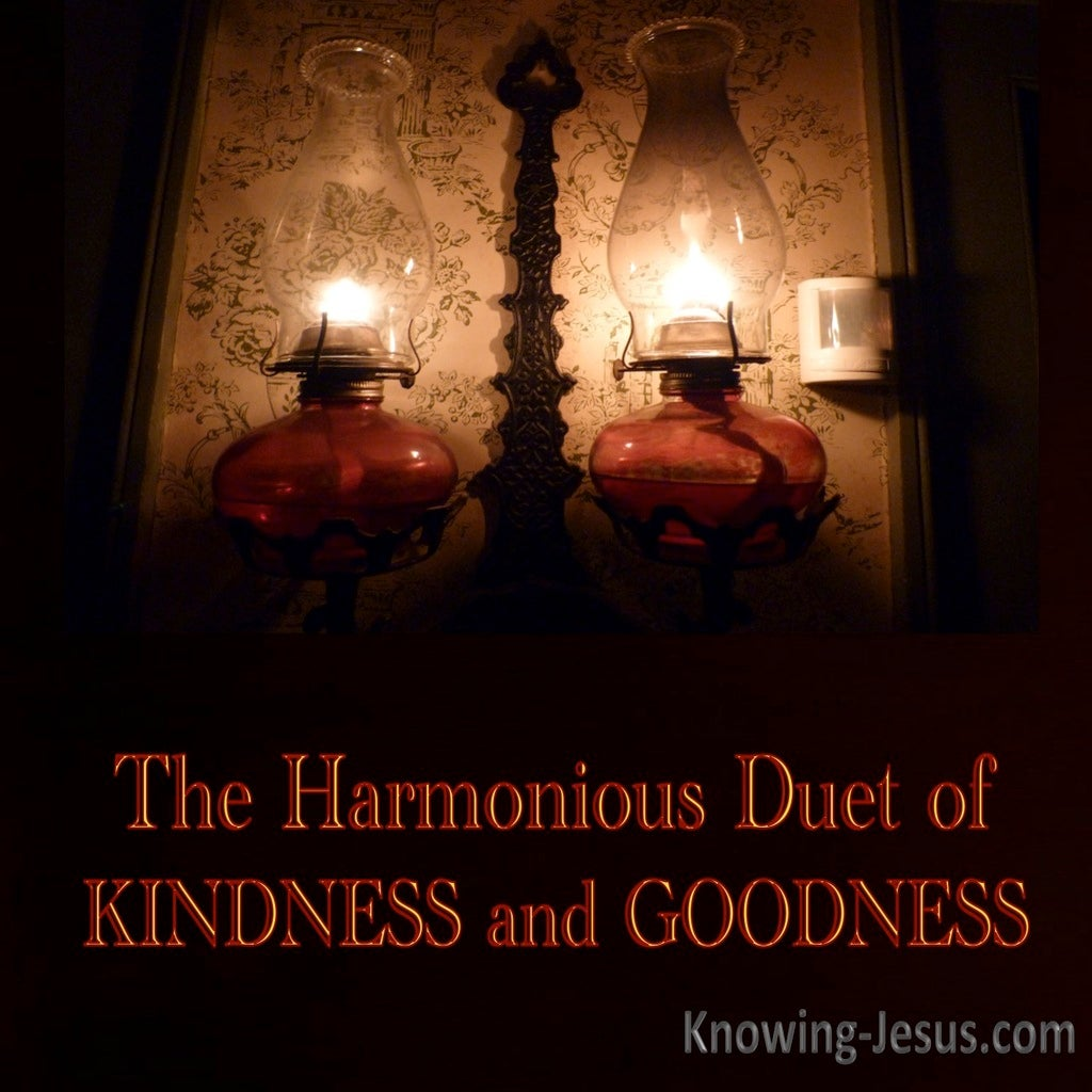 Harmonious Duet of Kindness and Goodness (devotional)05-22 (brown)