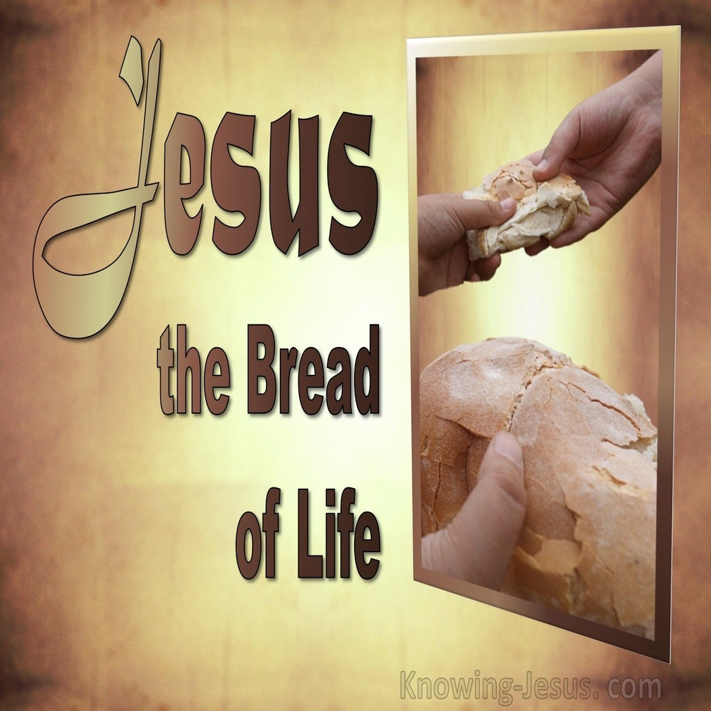 John 6:48 Bread Of Life (devotional)07-23 (beige)