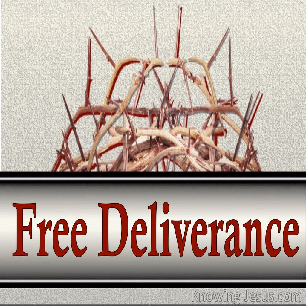 Free Deliverance (devotional) (silver)