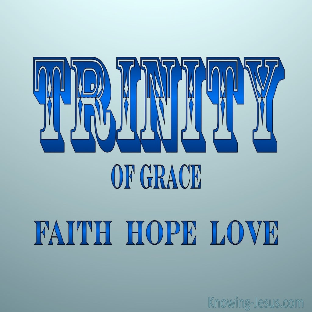 Trinity Of Grace (blue)