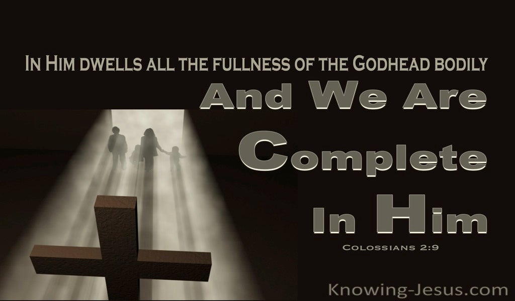 Colossians 2:10 Complete in Him (devotional)05:30 (black)