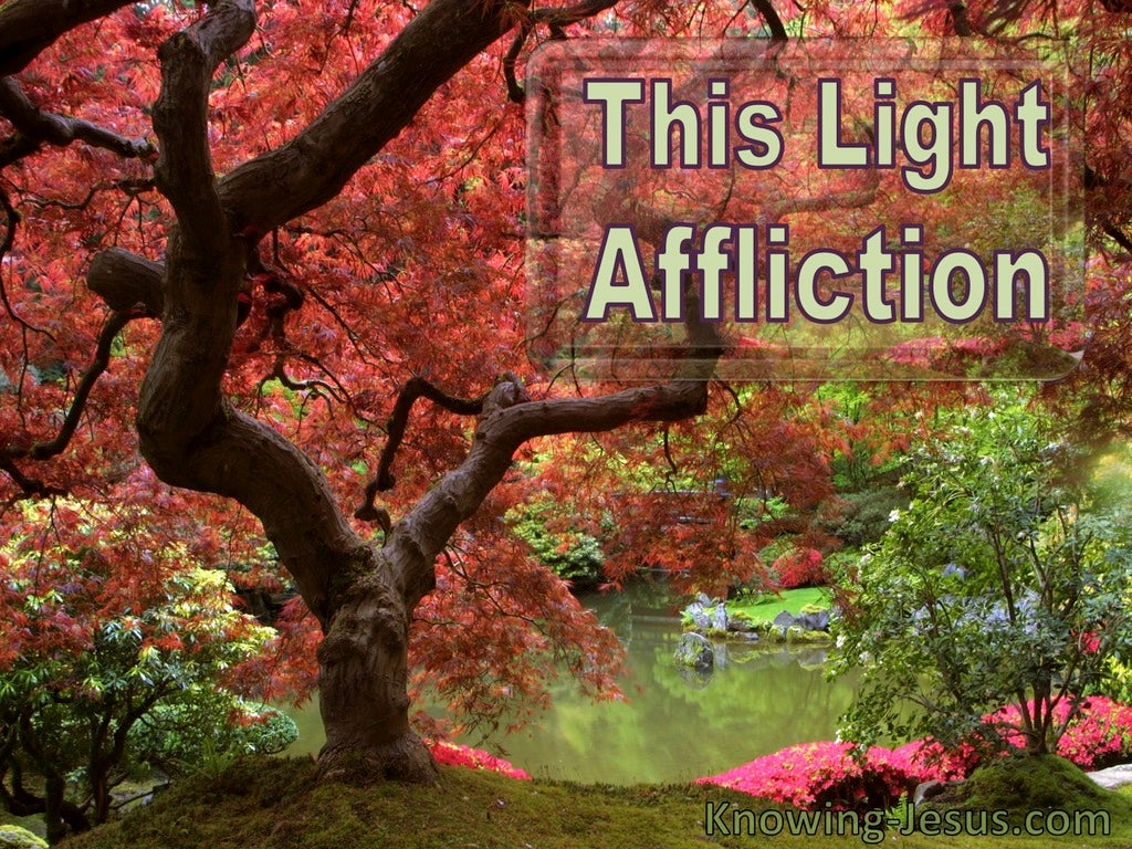 This Light Affliction (devotional) (red)