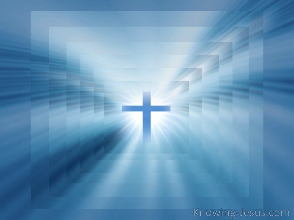 CROSS Of Christ (blue)