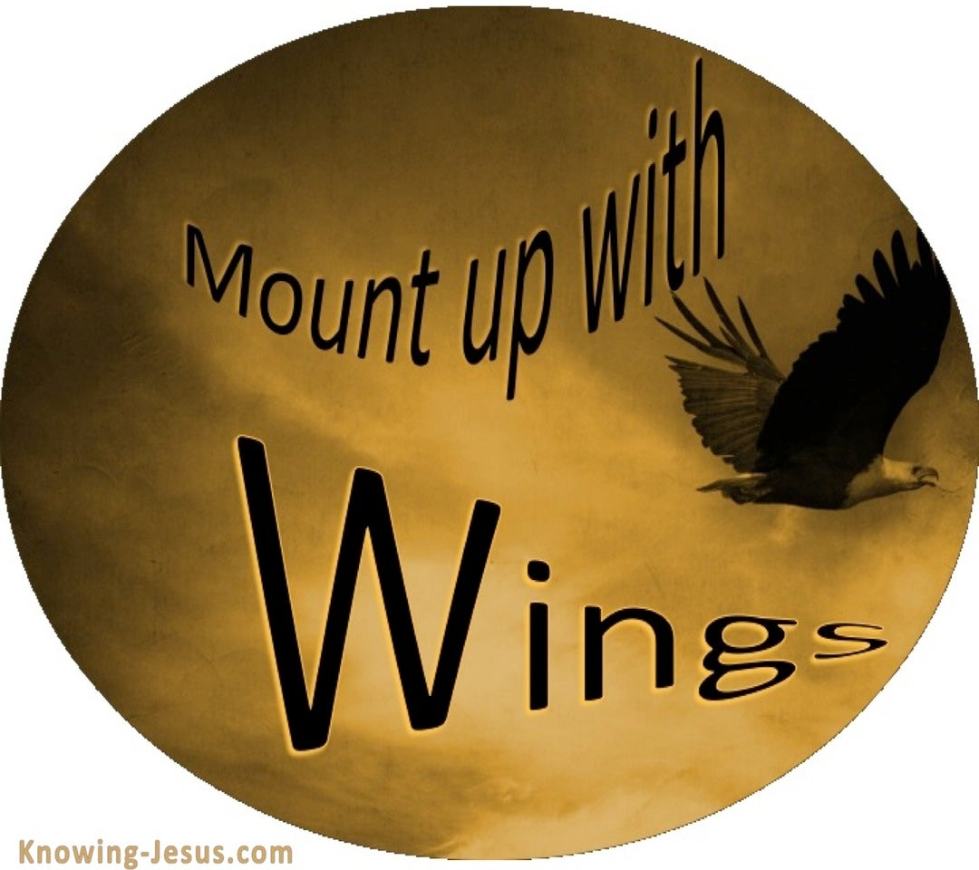 Isaiah 40:31 Mount Up With Wings (devotional)02-02 (black)