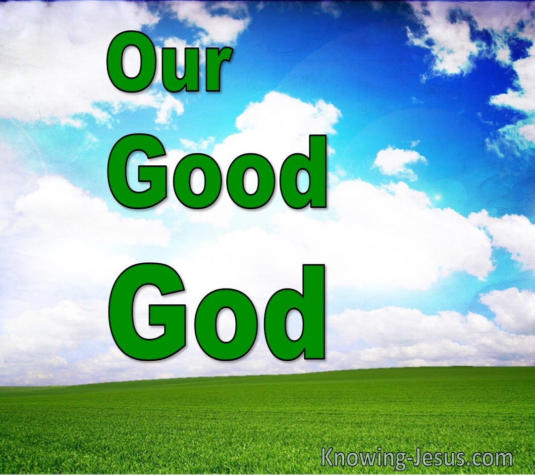Our Good God (devotional) (green)