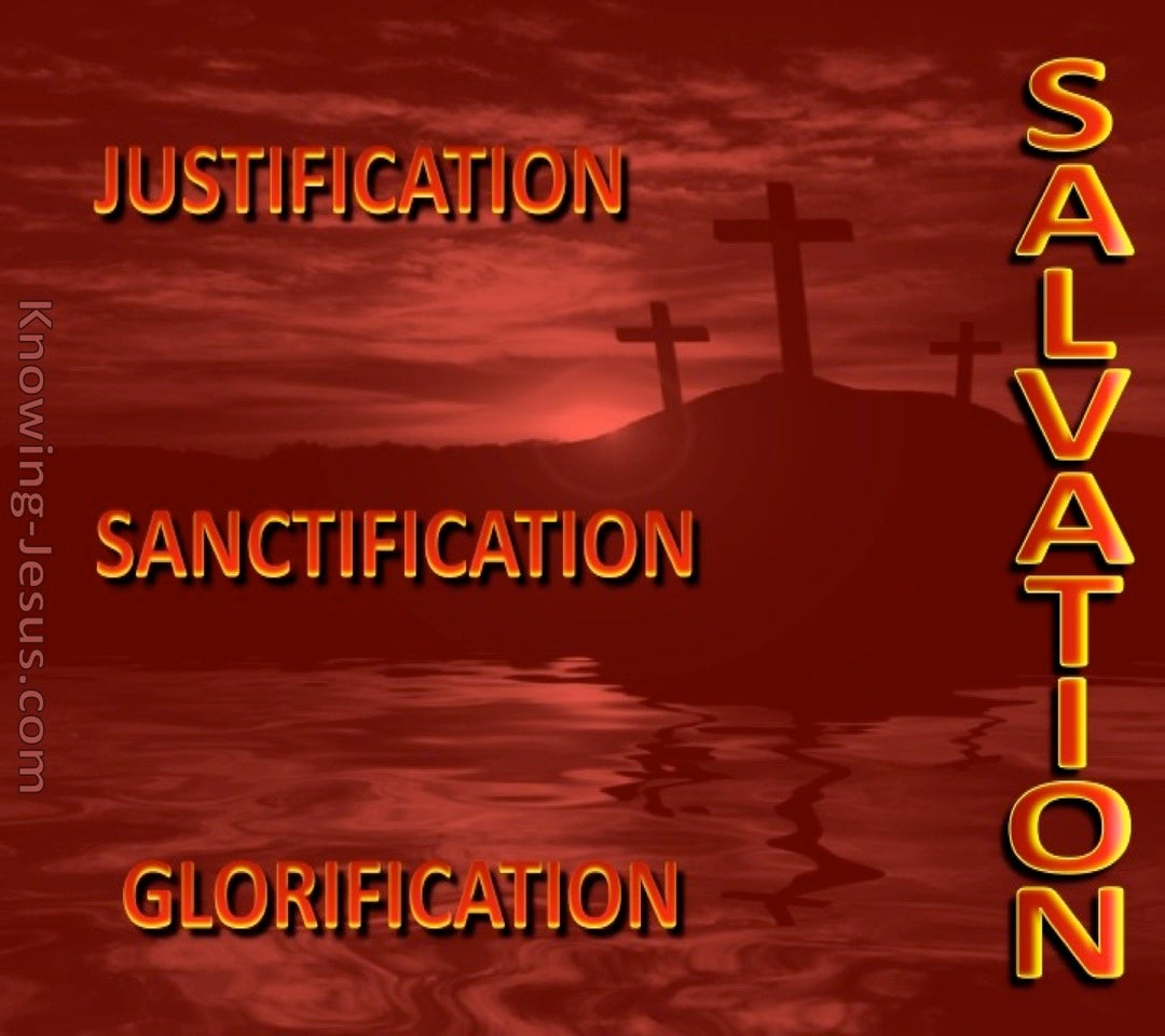 The Three Elements of Salvation (devotional) (red)