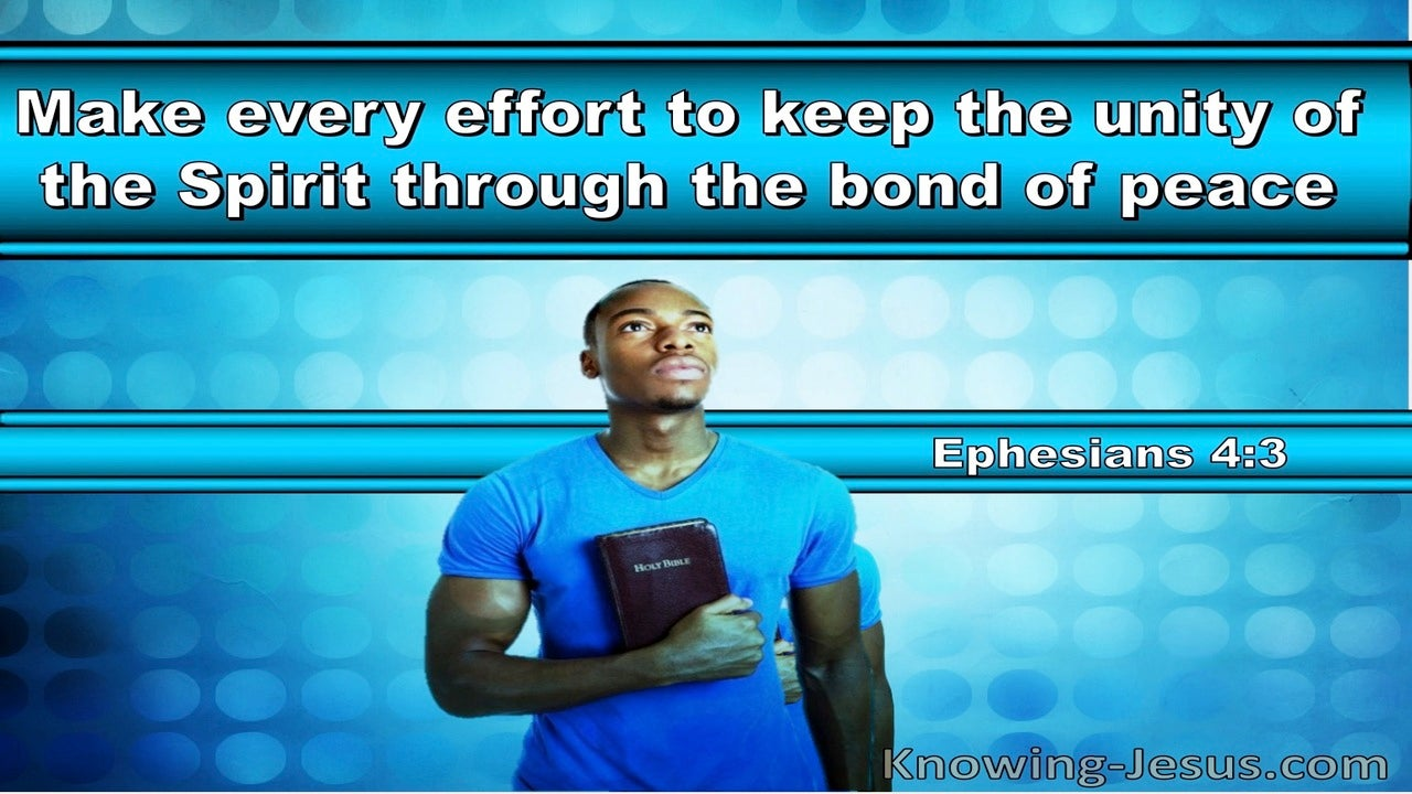 Ephesians 4:3 Make Every Effort To Keep The Unity Of The Spirit (windows)02:19