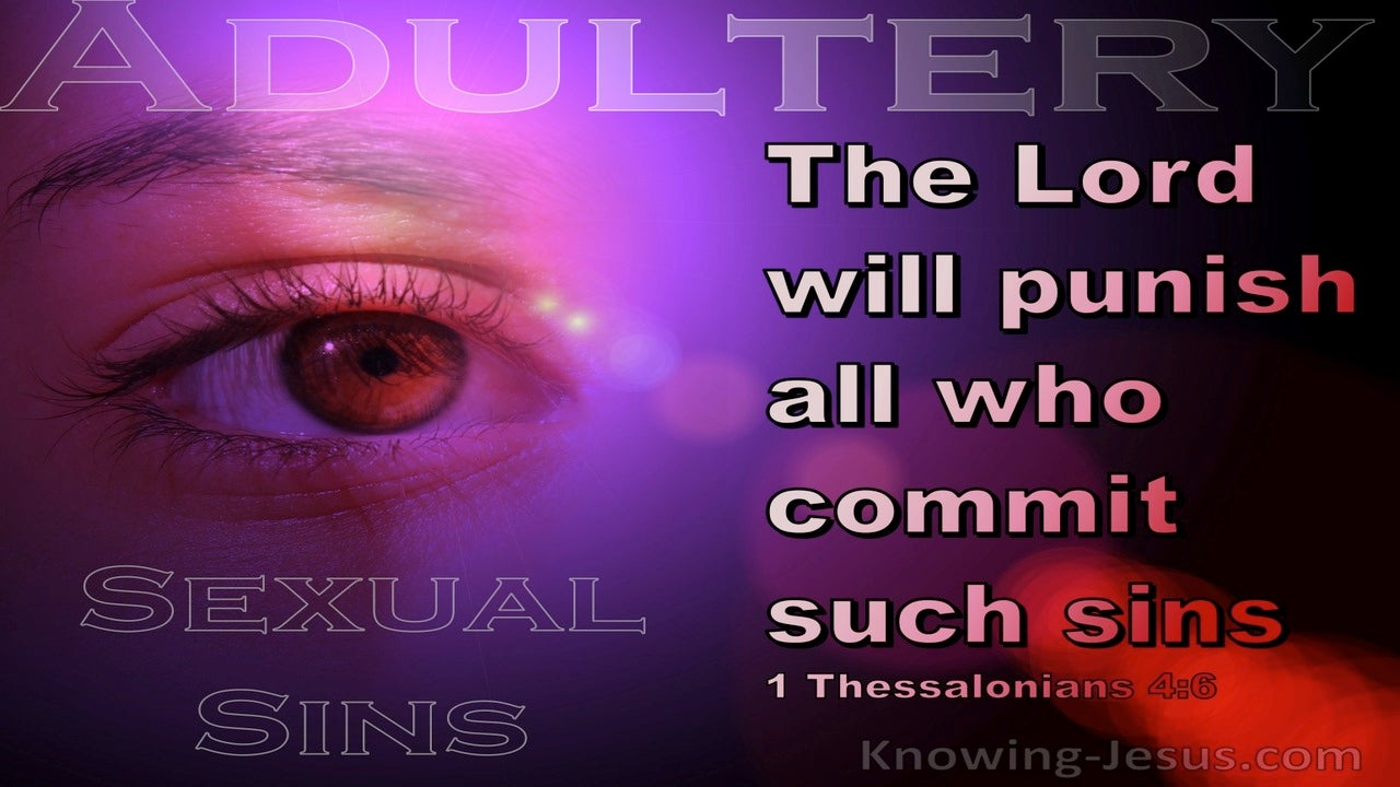 1 Thessalonians 4:6 That No Man Transgress And Defraud His Brother (pink)