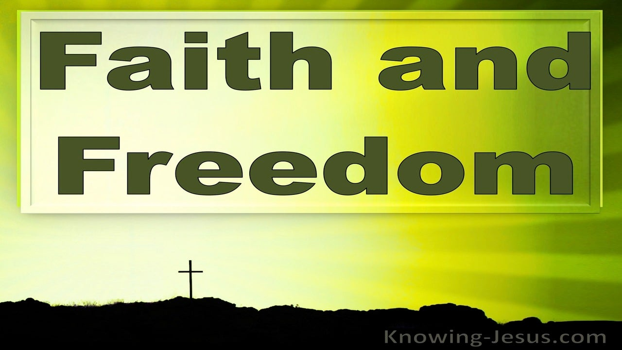 Faith and Freedom (devotional) (green)