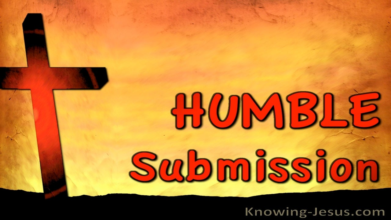 Humble Submission (devotional)10-09 (red)