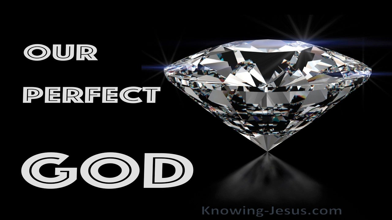 Our Perfect God (devotional)07-01 (black)