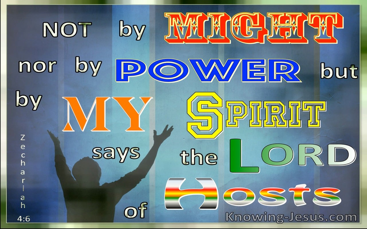 Zechariah 4:6 Not By Might or Power But By My Spirit (windows)04:05