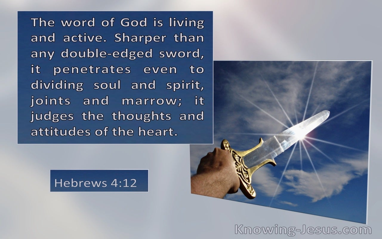 Hebrews 4:12 The Word Of God Is Living And Active (windows)03:09