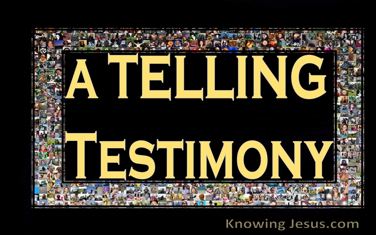 A Telling Testimony (devotional)04-19 (yellow)