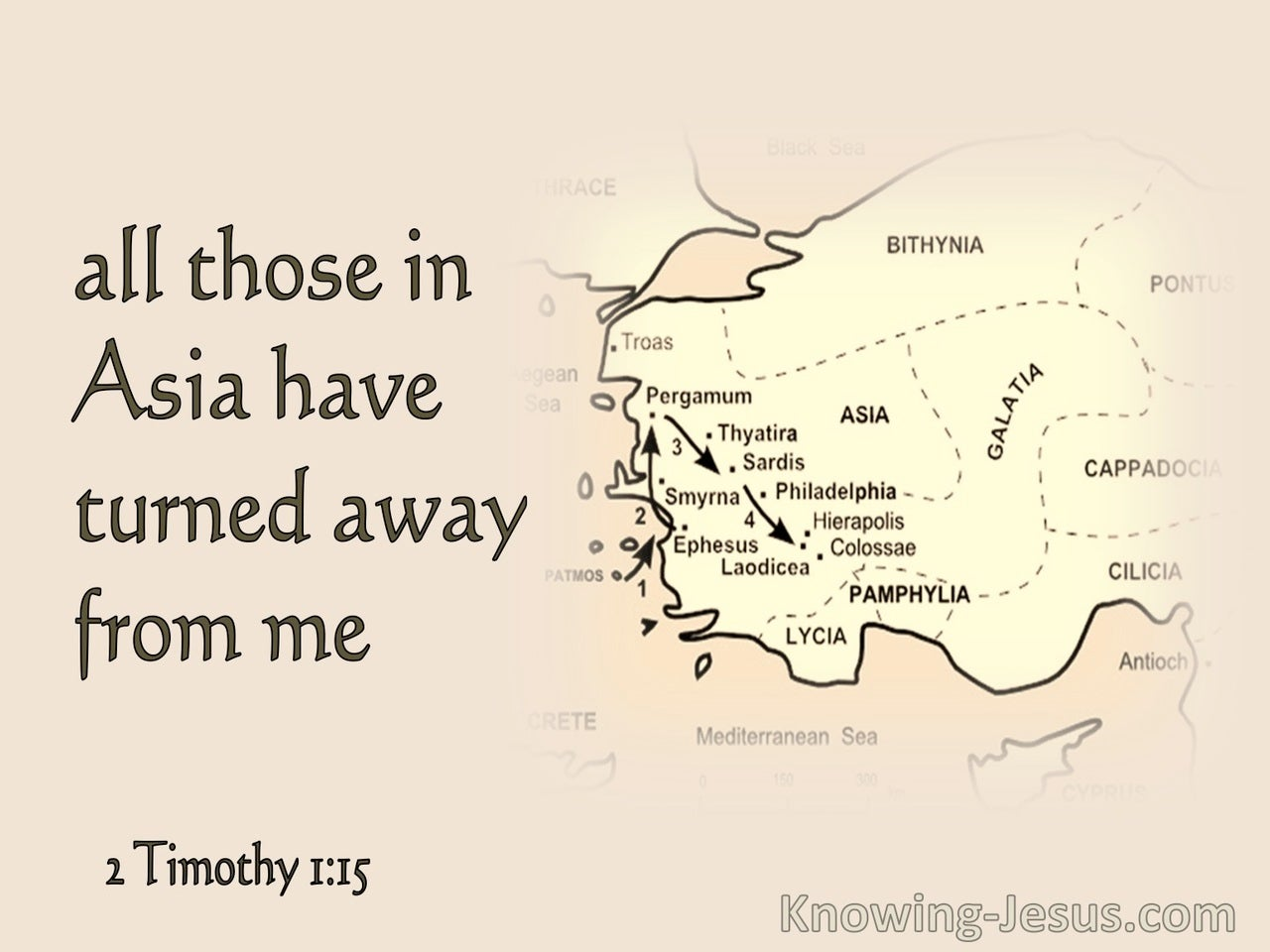 2 Timothy 1:15 All In Asia Have Turned From Me (pink)