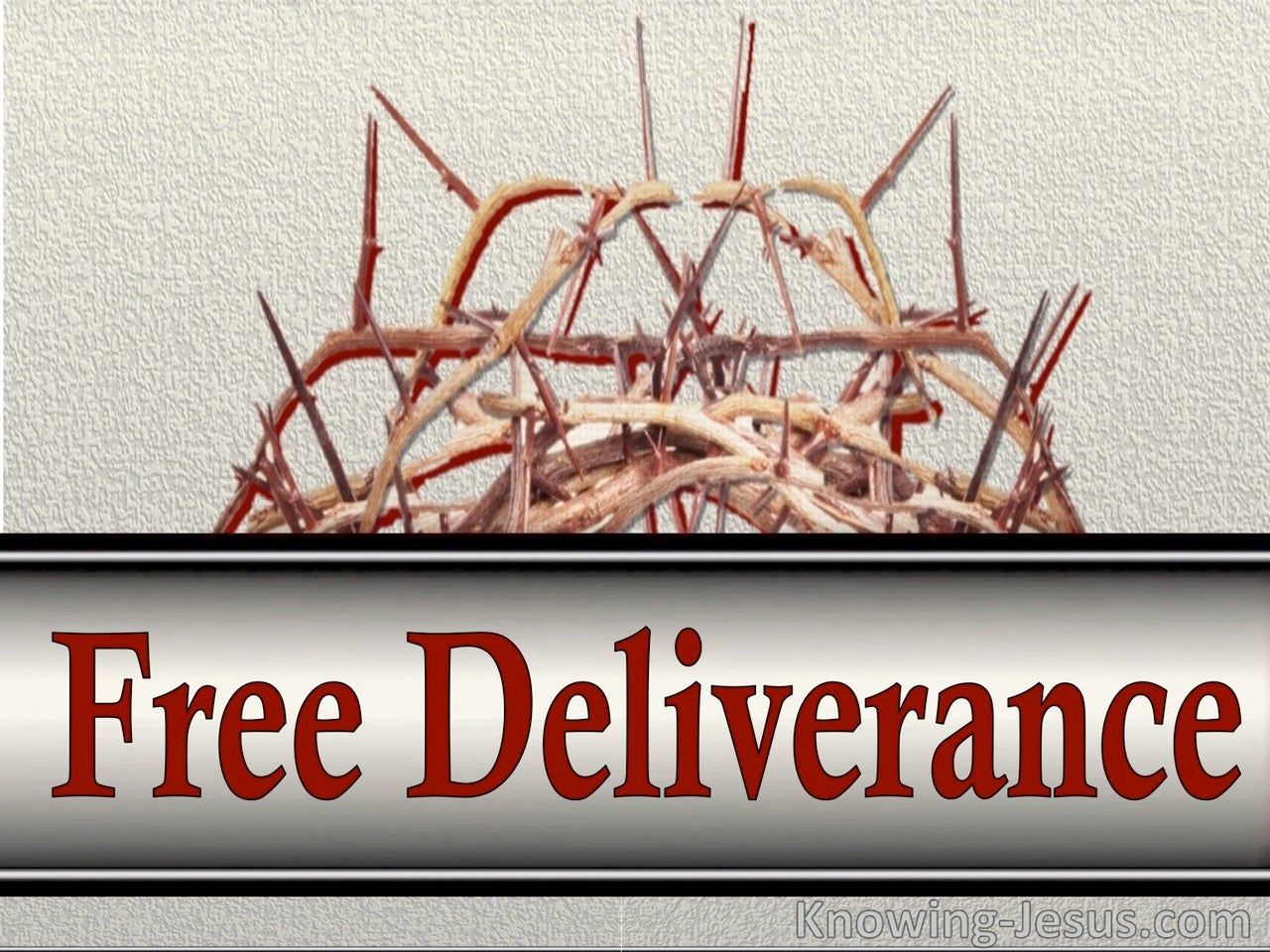 Free Deliverance (devotional)12-03 (silver)