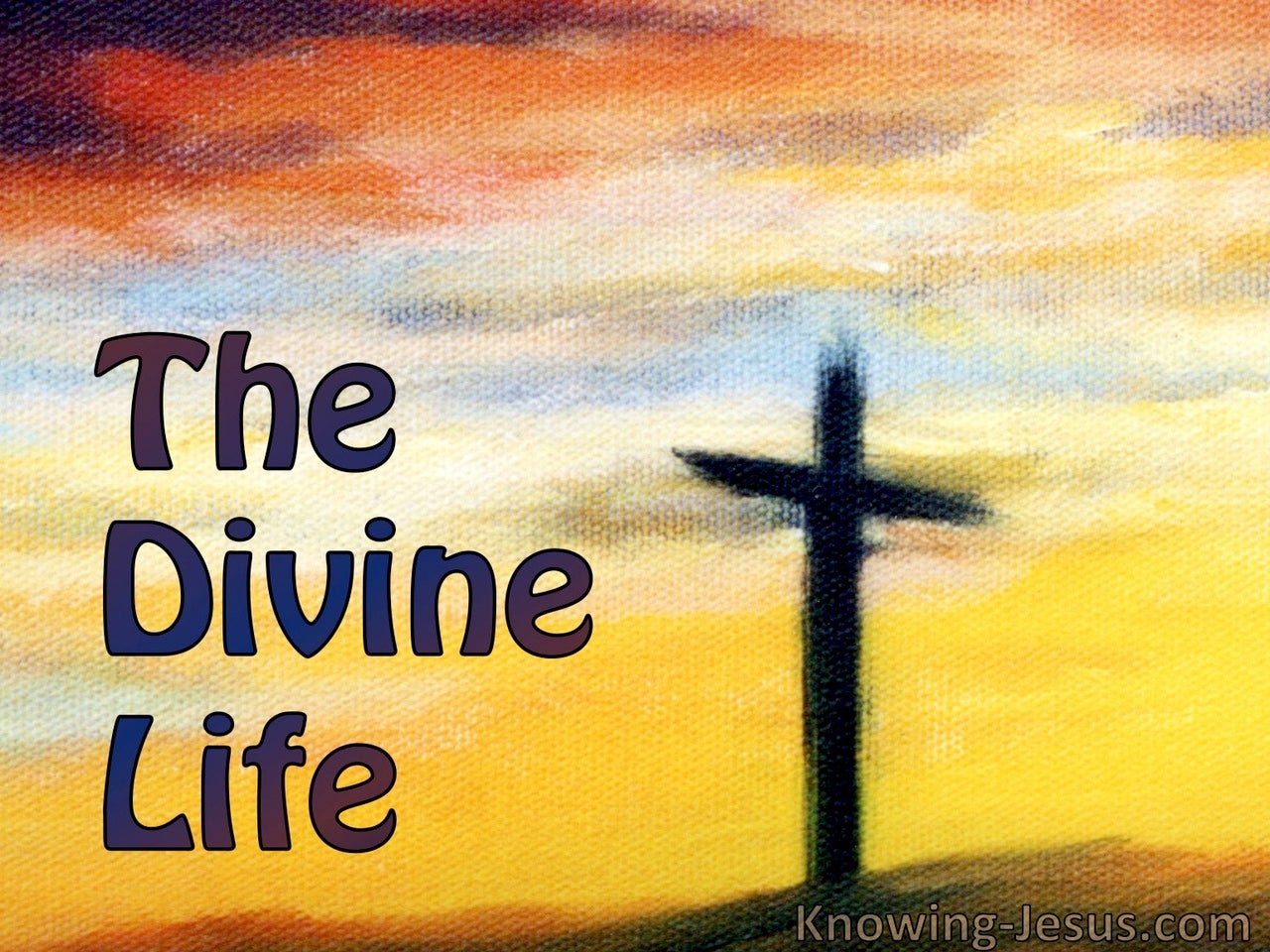 The Divine Life (devotional)10-03 (yellow)