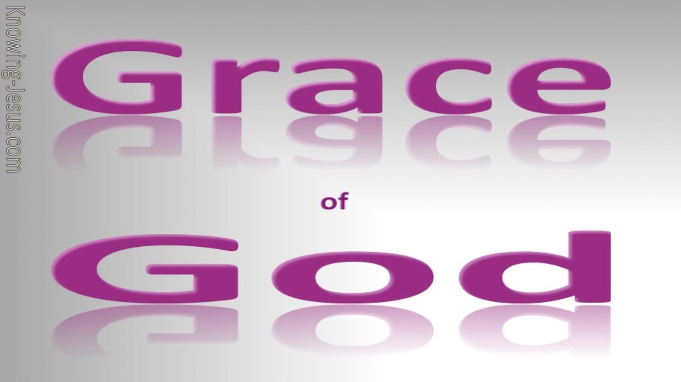 Unconditional Acceptance (devotional) - grace