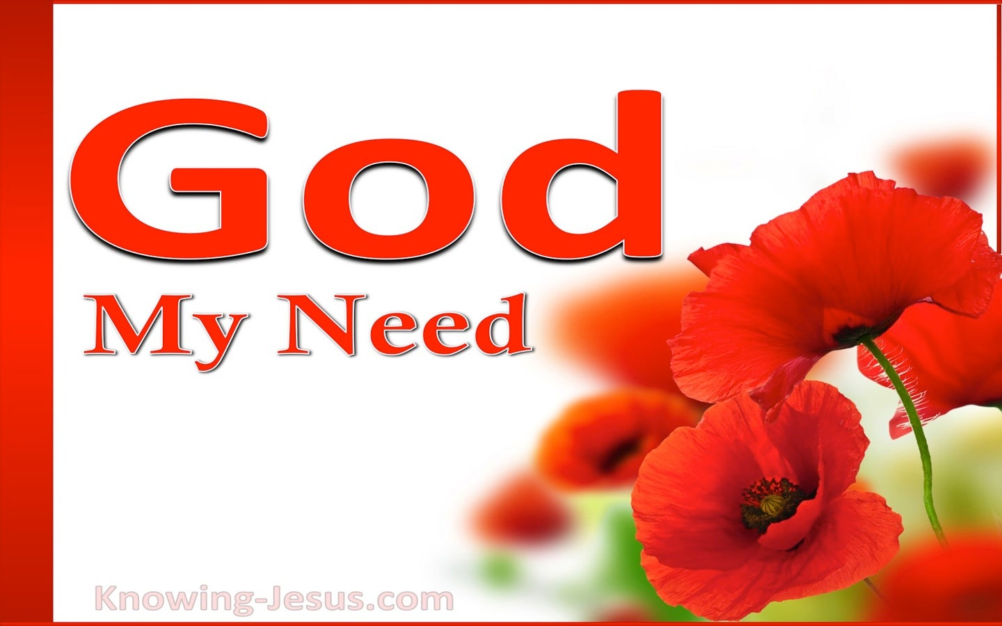 God, My Need (devotional)02-19 (red)