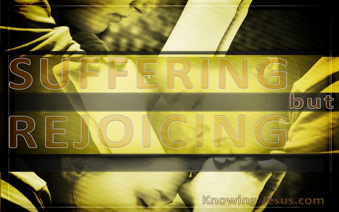 Suffering But Rejoicing (devotional)02-27 (yellow)