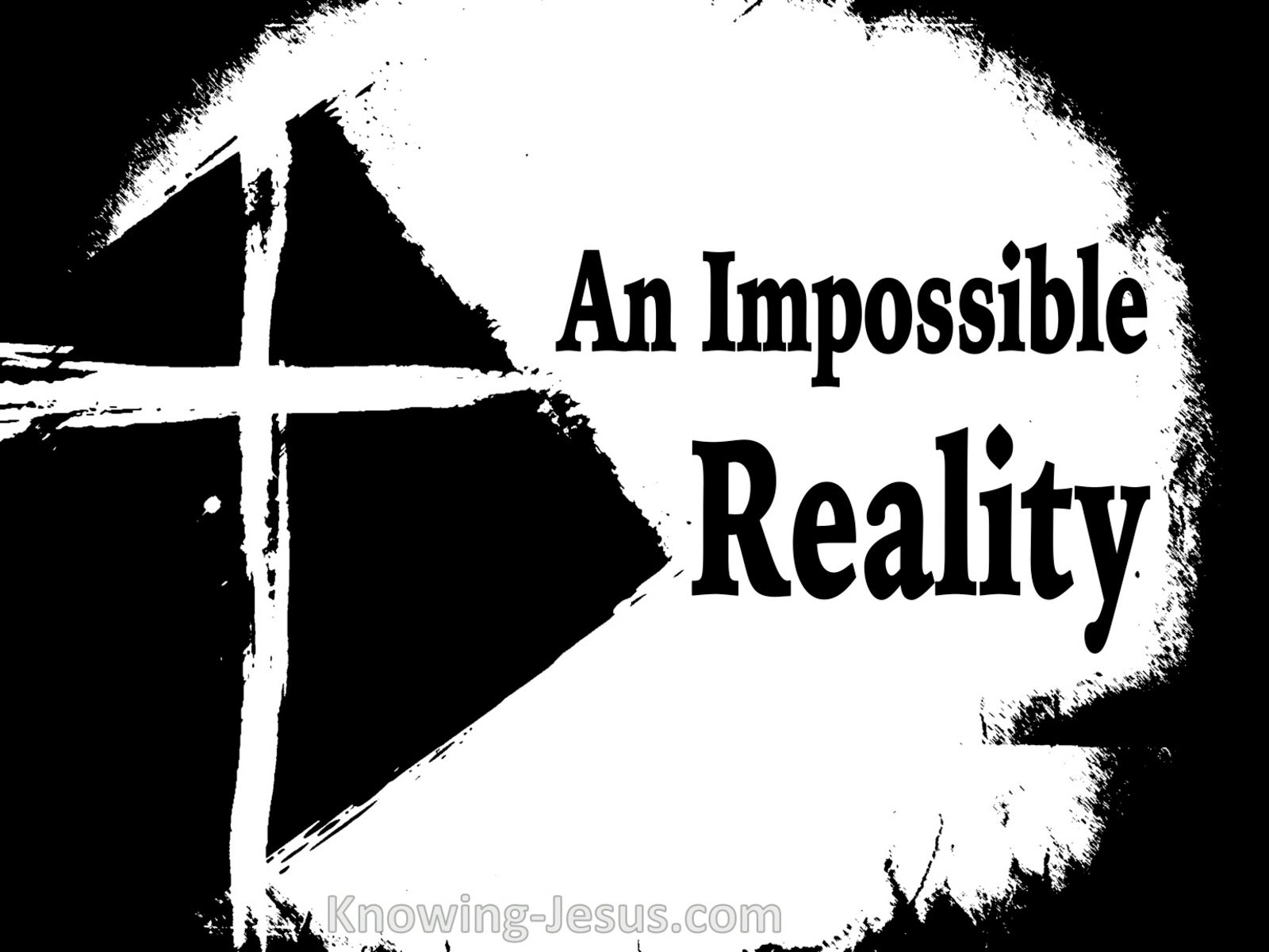 An Impossible Reality (devotional) (white)