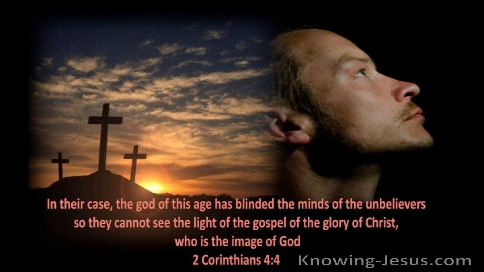 2 Corinthians 4:4 Blinded Minds (orange)