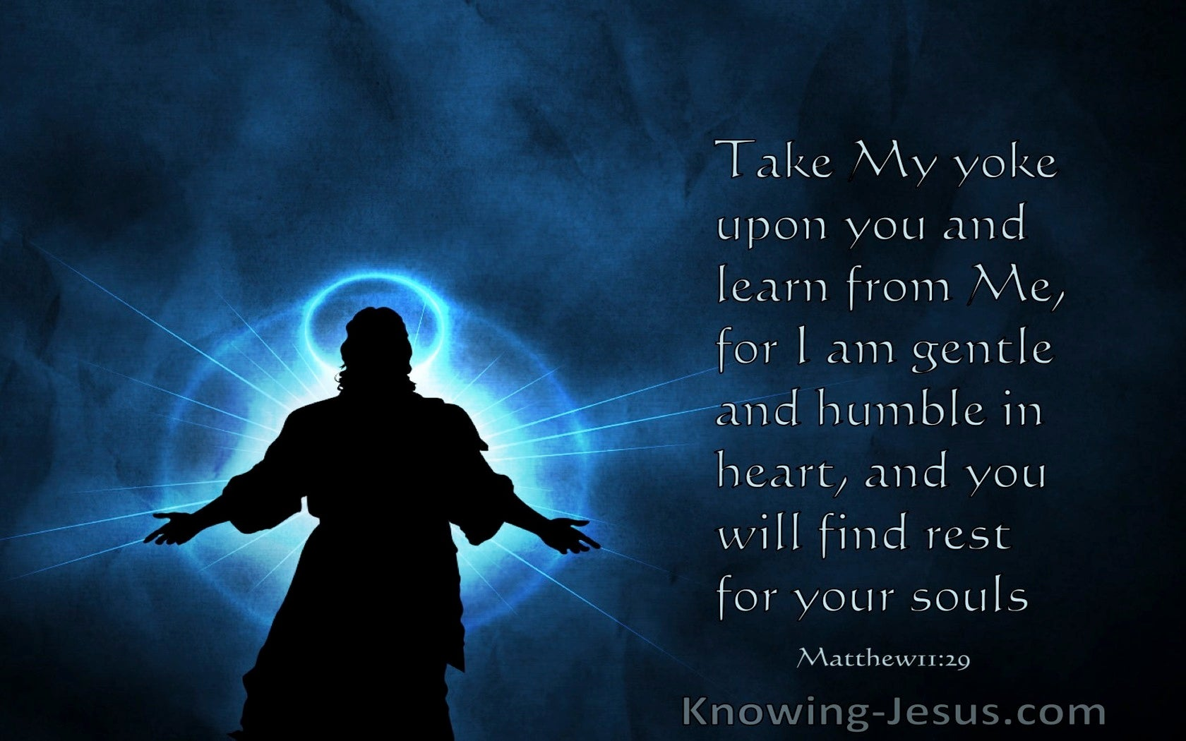 Matthew 11:29 Take My Yoke Upon You And Learn From Me (windows)03:11