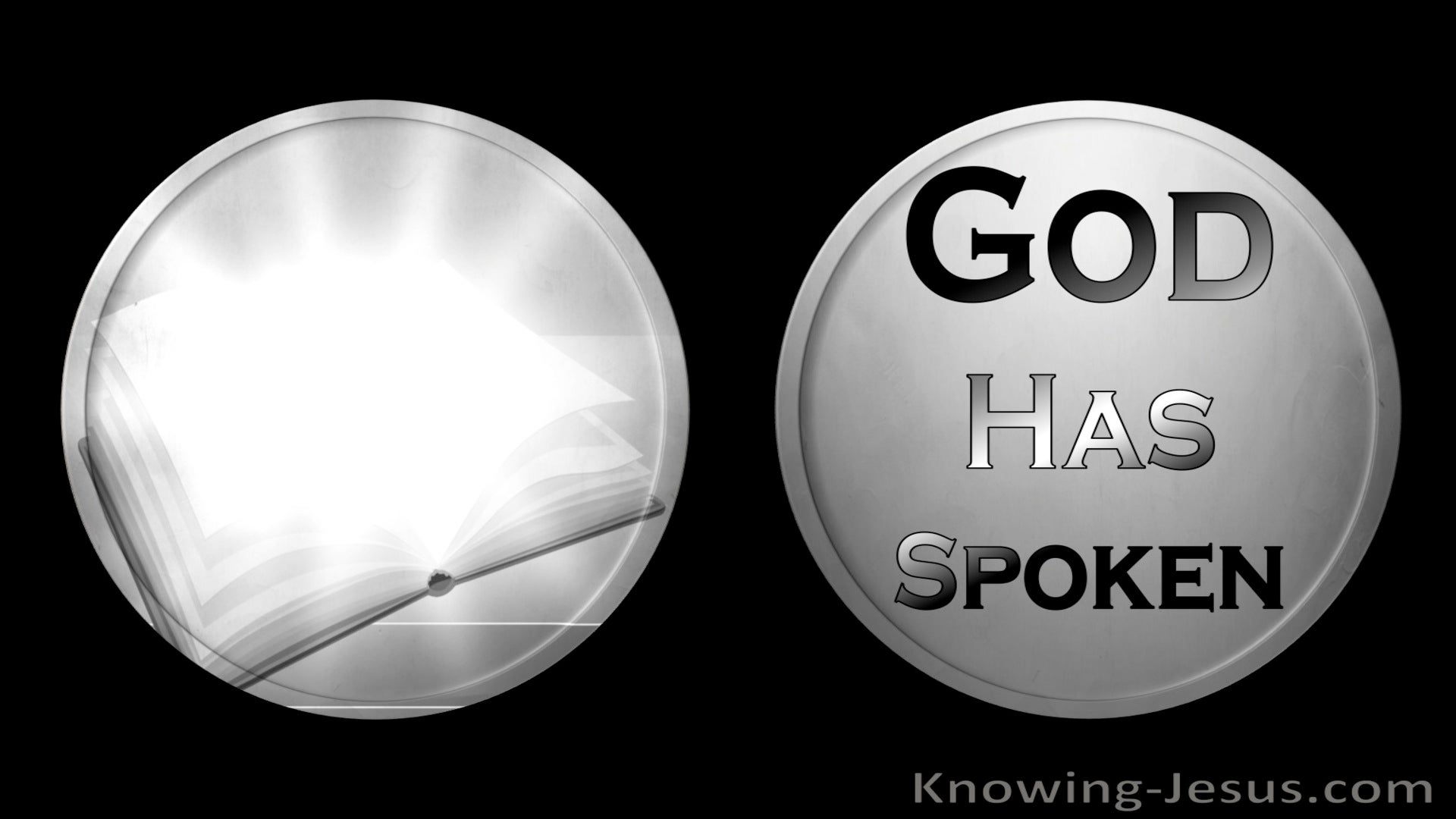 Hebrews 1:1 God Is Speaking (devotional)05:15 (black)