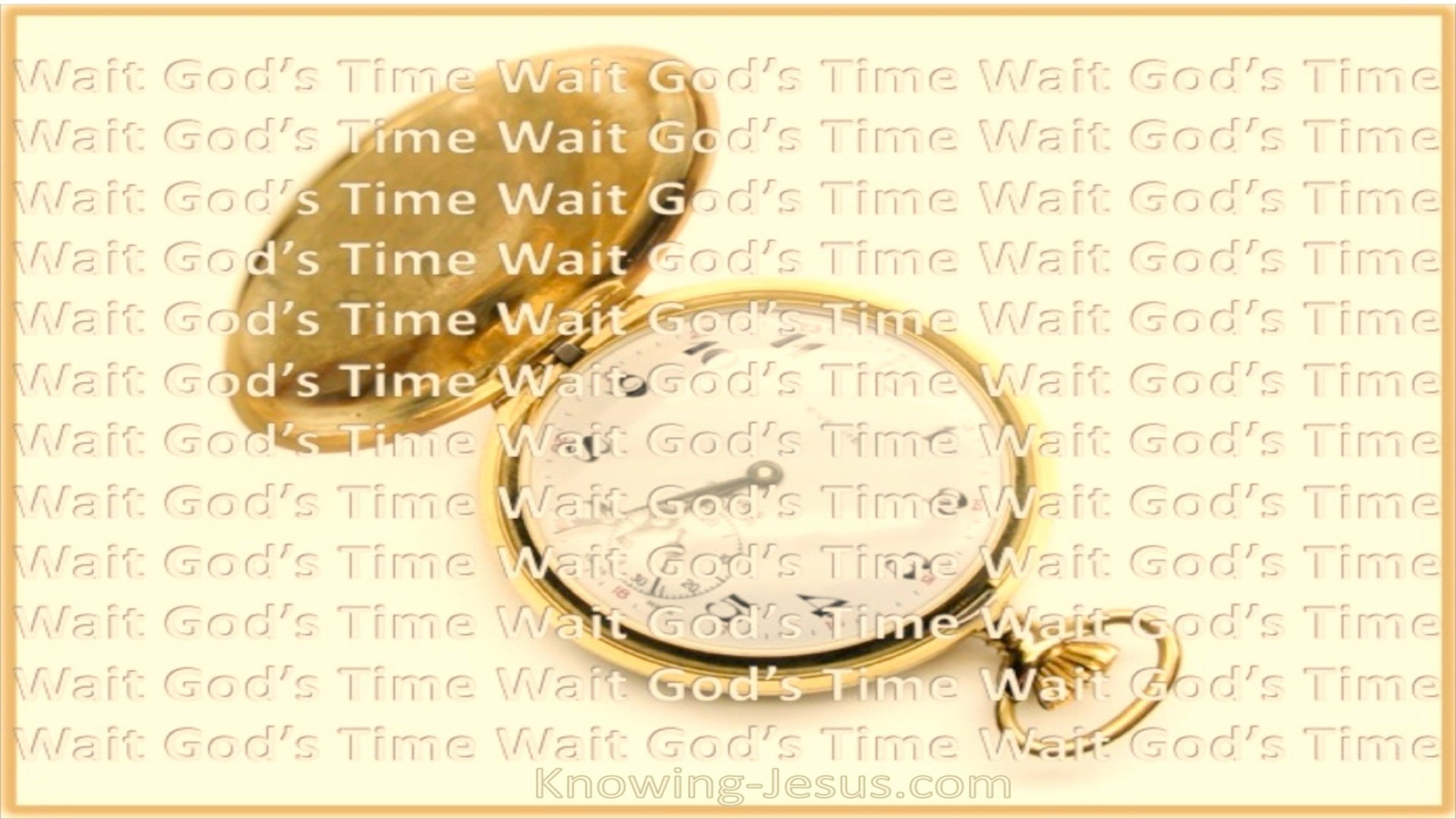 Wait God's Time (devotional)07-08 (yellow)