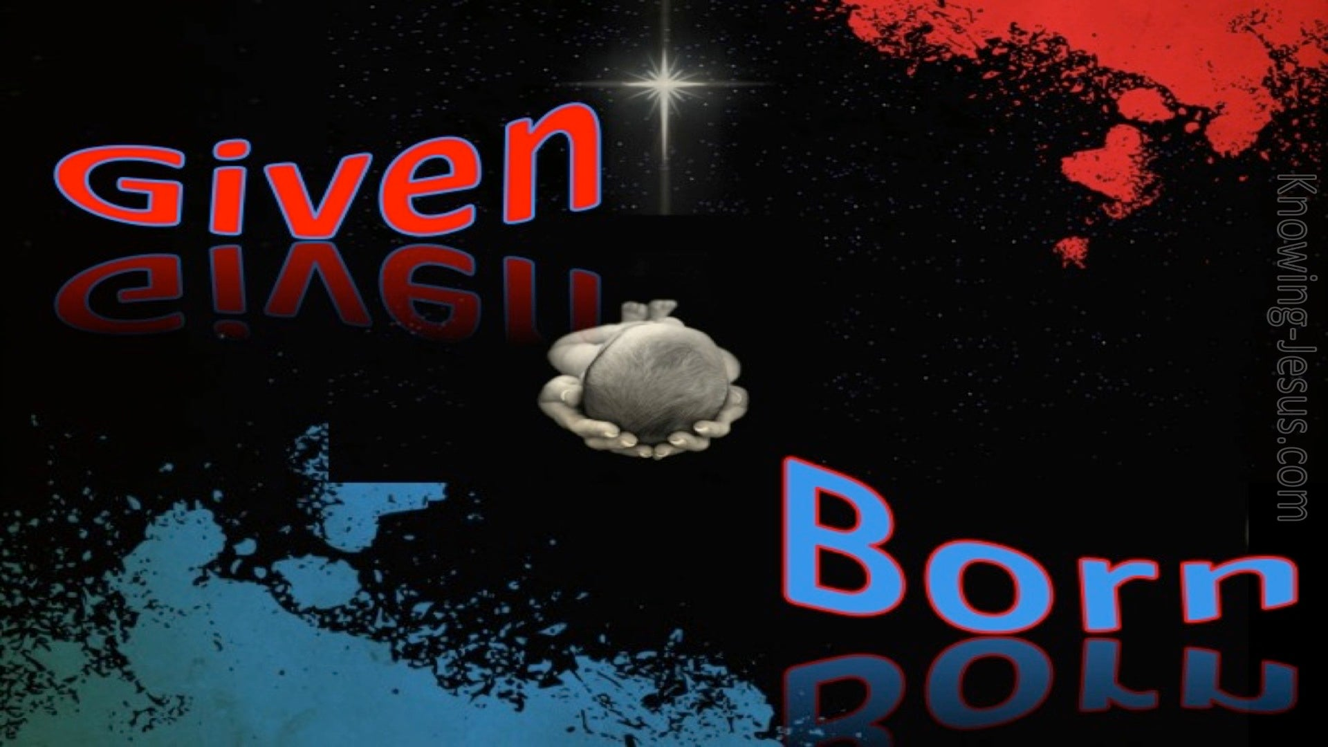 Given and Born (devotional) (black) - Isaiah 9:6