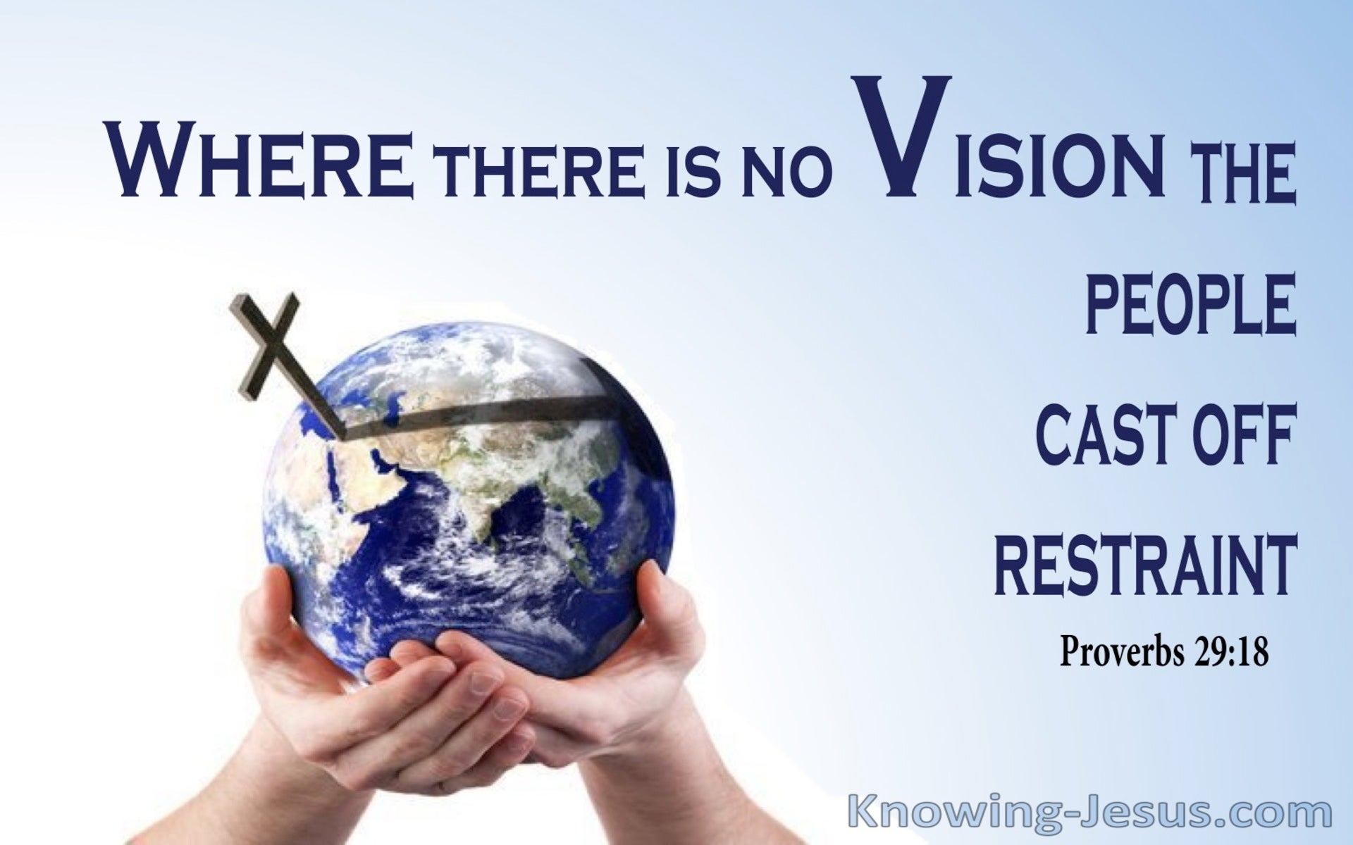 Proverbs 29:18 Where There Is No Vision The People Cast Off Restraint (utmost)05:09