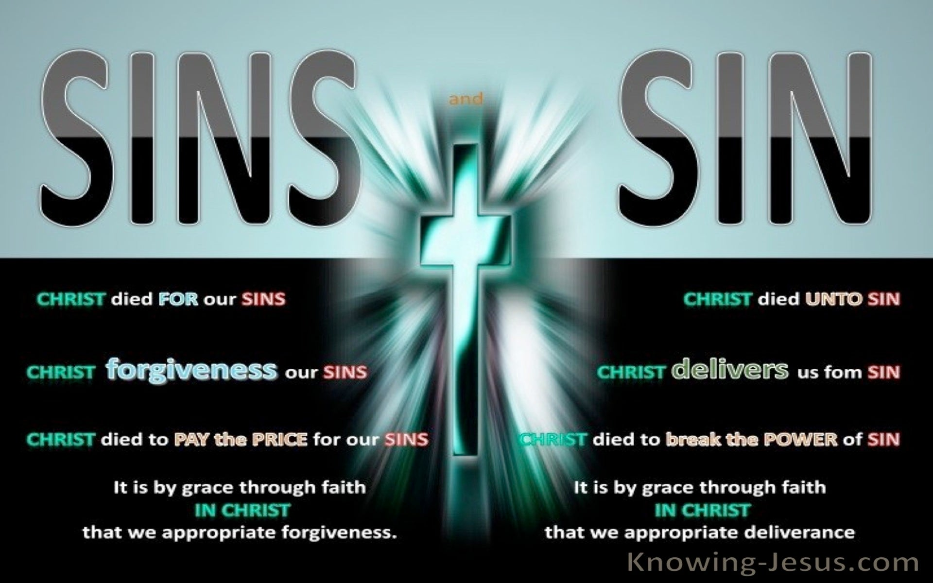 Romans 6:10 Sins and Sin (devotional)11-25 (black)