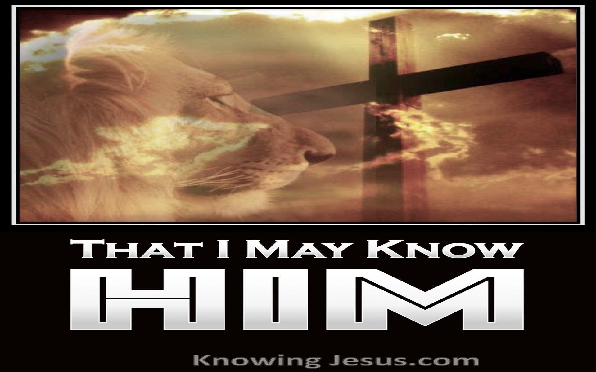 Philippians 3:10  That I May Know Him (white)