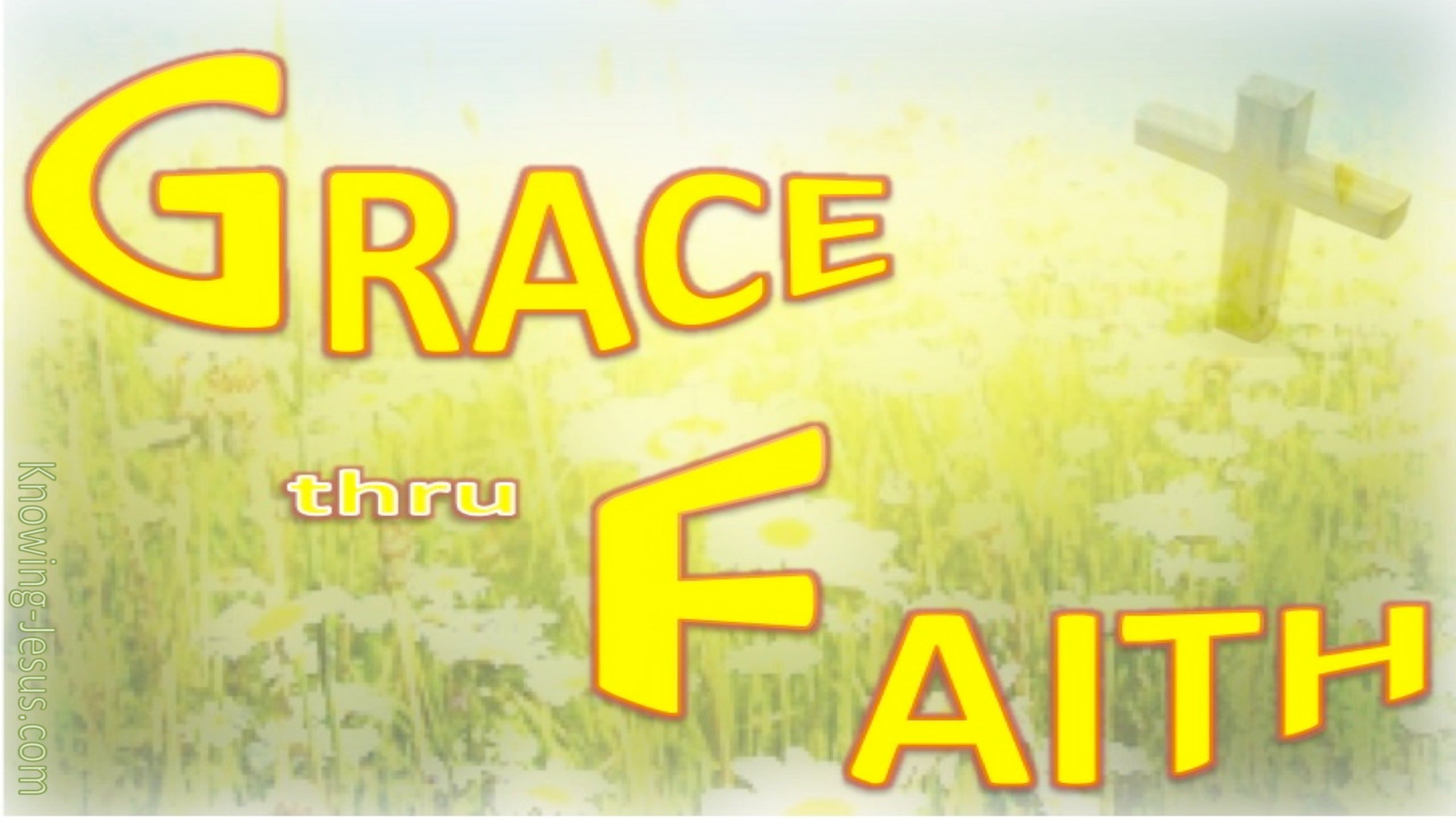 GRACE Thru Faith (yellow)