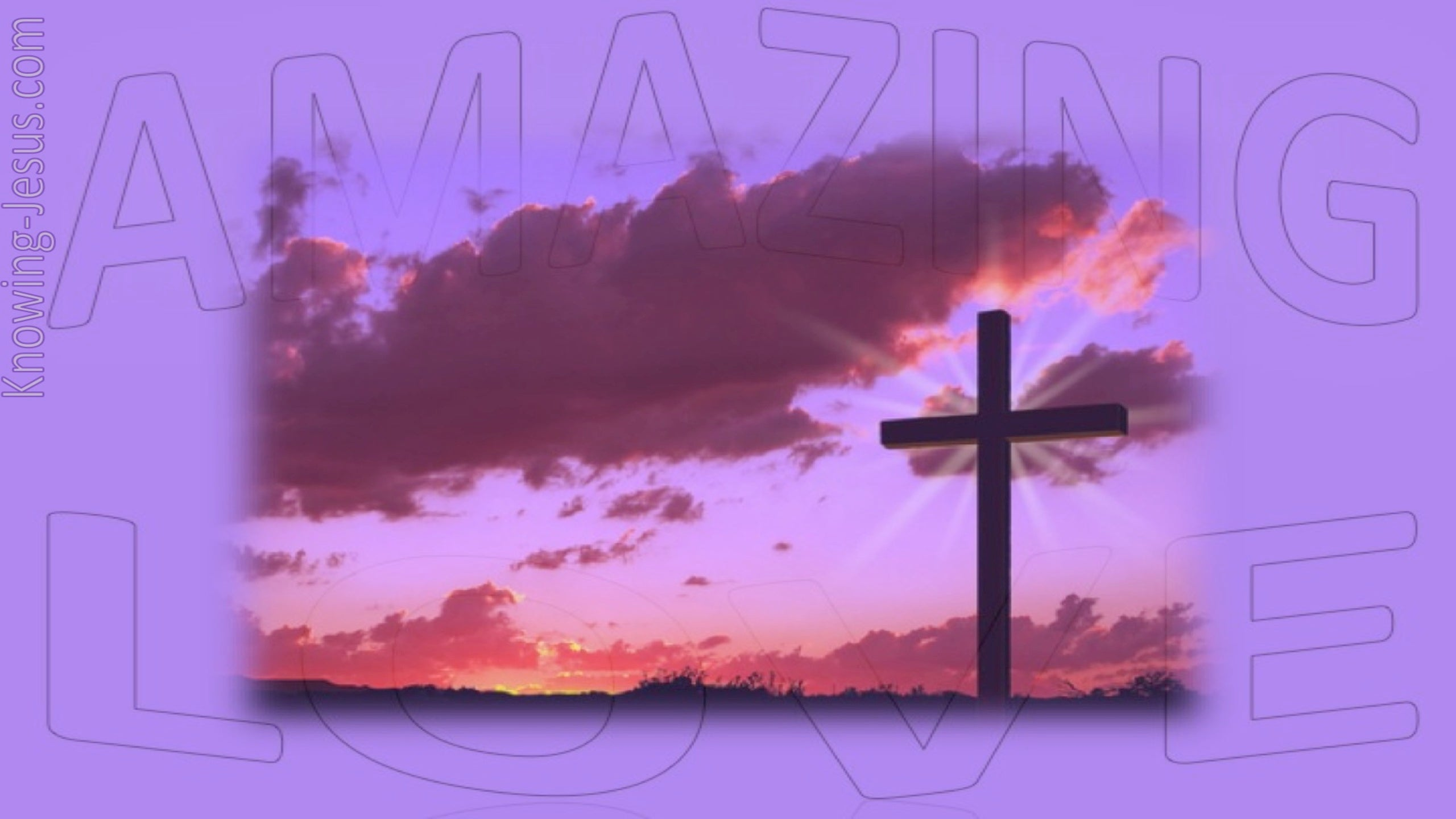 Amazing Love (devotional) (purple)