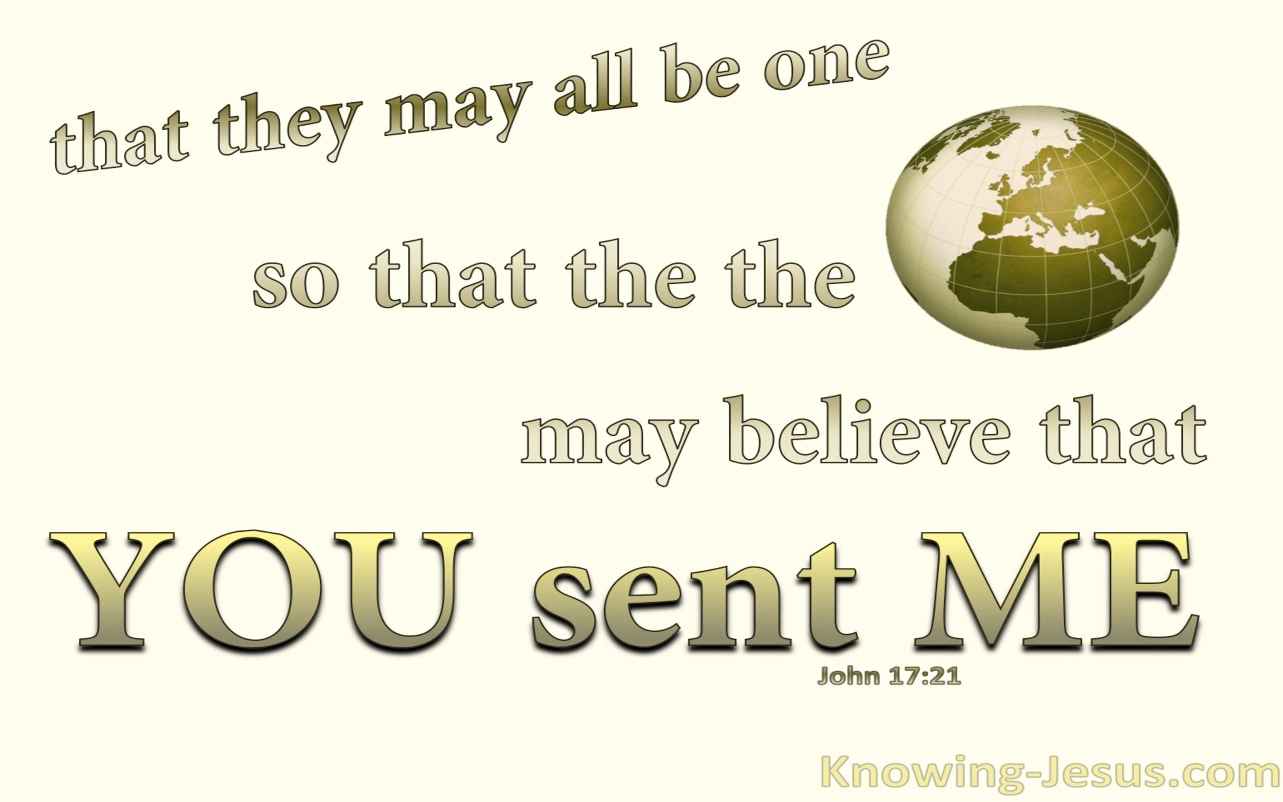 John 17:21 That They May Be One (sage)
