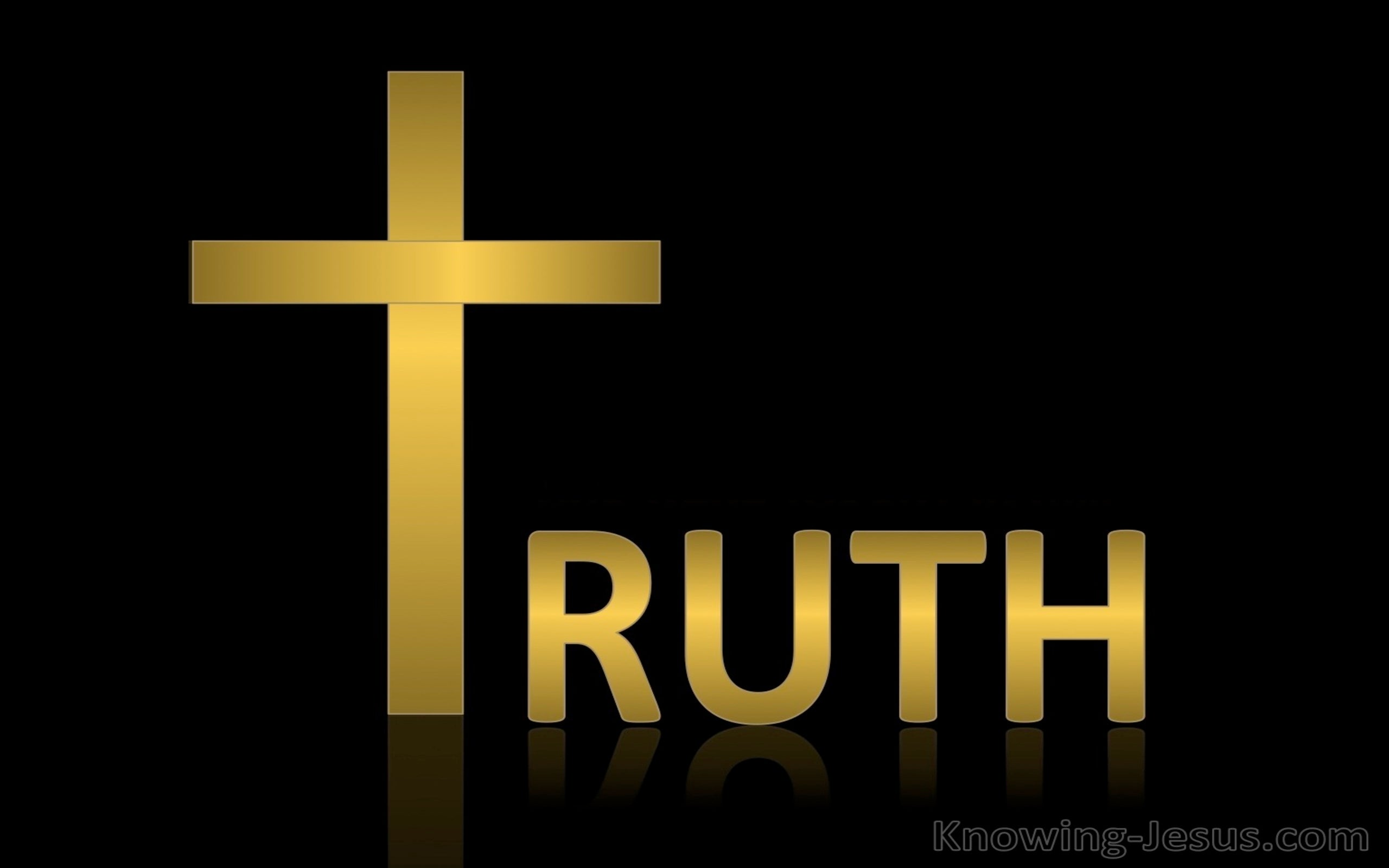 Ephesians 4:21 You Have Heard About The Truth (black)