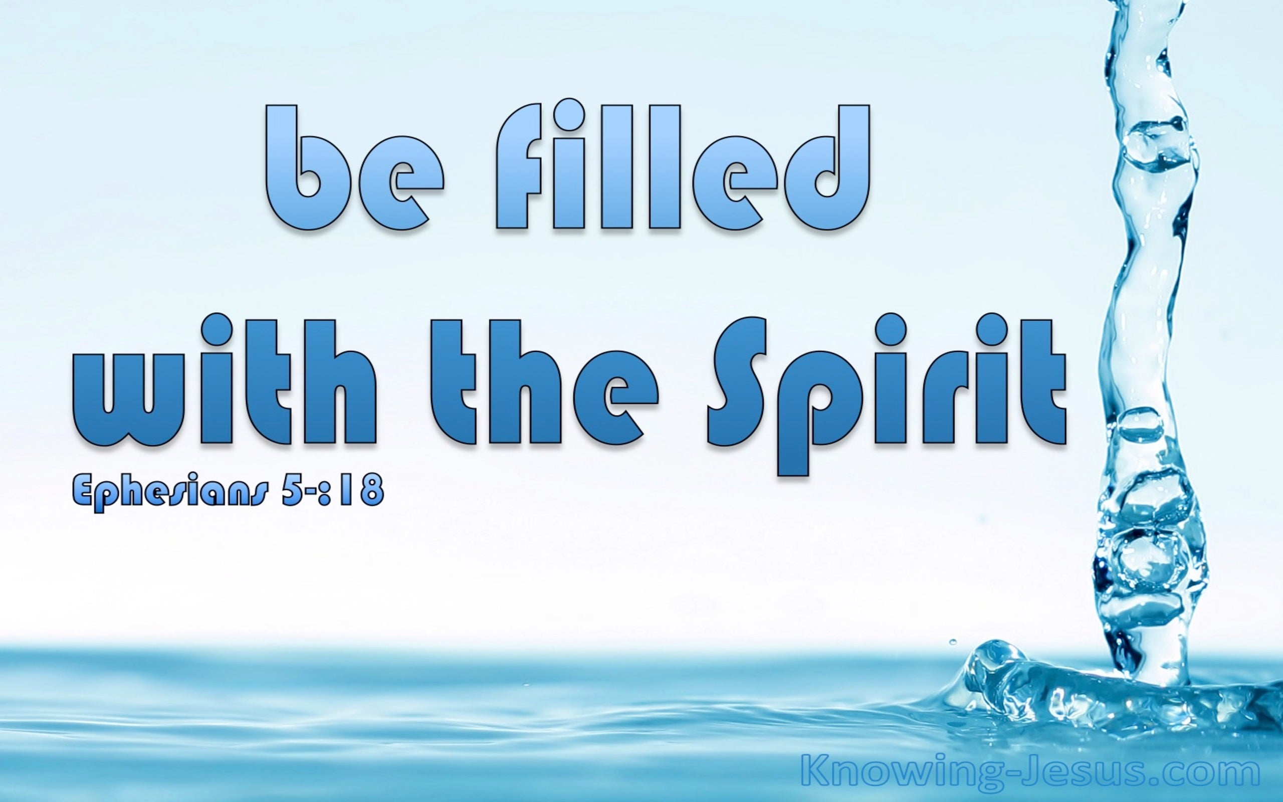 Indwelling Power (devotional) (blue) - Ephesians 5:18