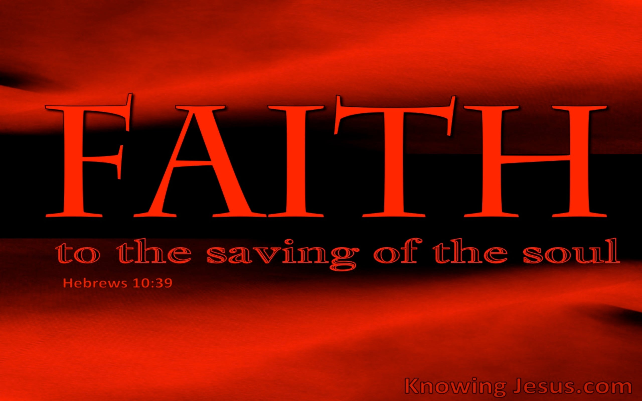 Hebrews 10:39 Biblical Faith (devotional)12-31   (red)