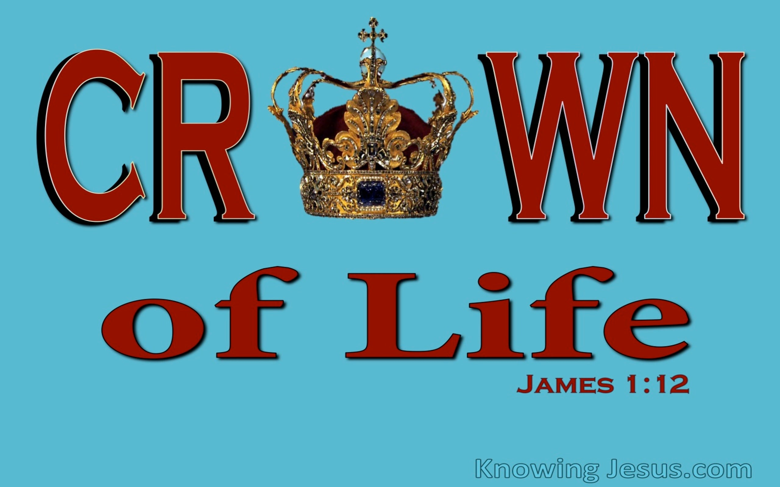 Spiritual Truth (devotional) (red) - James 1:12
