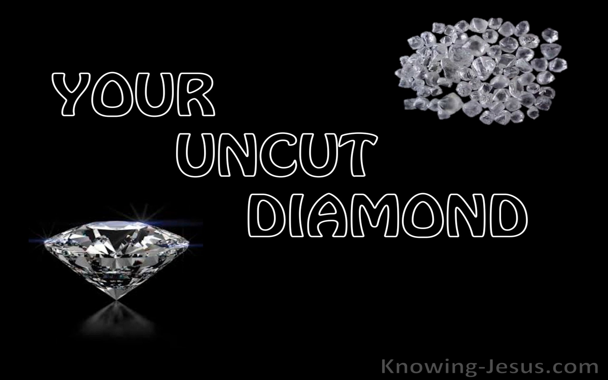 Your Uncut Diamond (devotional)02-02 (black)