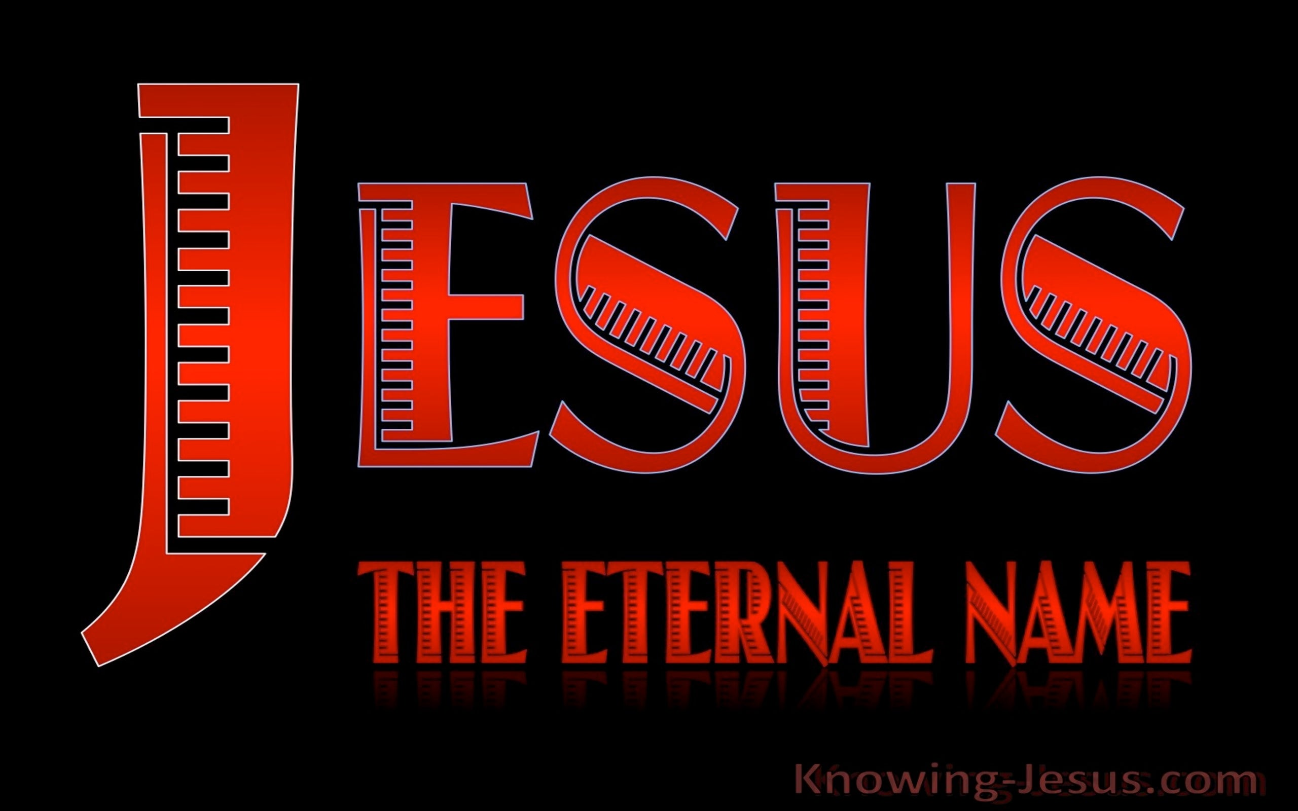JESUS - The Eternal Name (red)
