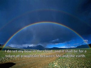 Genesis 9:13 My Bow Shall Be For A Token Of A Covenant Between Me And The Earth (utmost)12:06