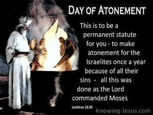 Leviticus 16:34 A Permanent Statue To Atone For Sin (black)