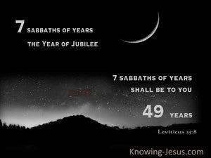 Leviticus 25:8 You Are Also To Count Off Seven Sabbaths Of Years For Yourself (gray)