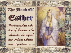 Esther 1:1 It Took Place In The Days Of Ahasuerus (beige)