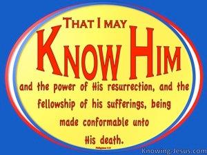 Again Satan Smote (devotional) (yellow) - Philippians 3:10