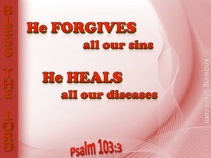 Psalm 103:3 He Forgives Our Sin (red)